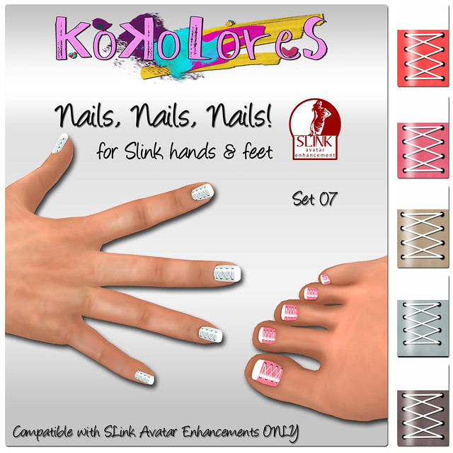 [KoKoLoReS[Nails, Nails, Nails! Set 07