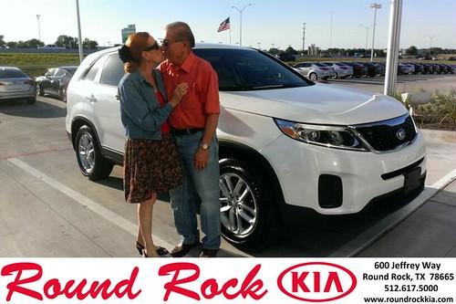 Thank you to Katheran Acmorsoni on your new 2014 Kia Sorento from Ruth Largaespada and everyone at Round Rock Kia! by RoundRockKia