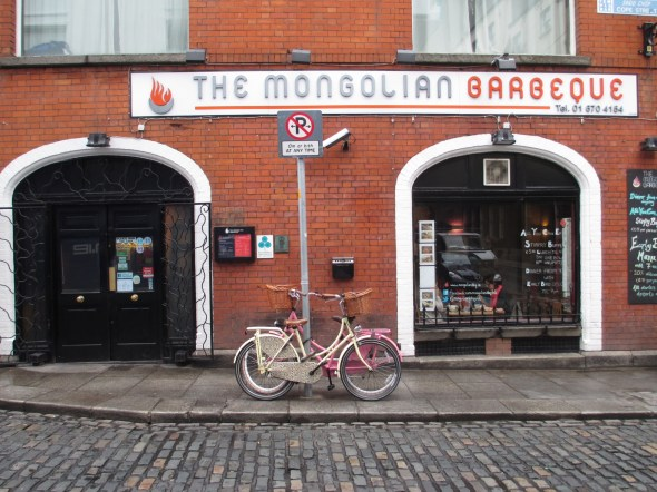 Had a Delicious Lunch at the Mongolian Barbecue, Dublin