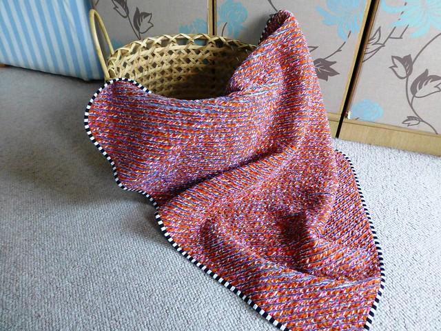 chenille baby blanket 006