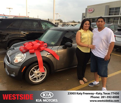 Westside KIA Houston Texas Customer Reviews and Testimonials-Willy Batlle by Westside KIA