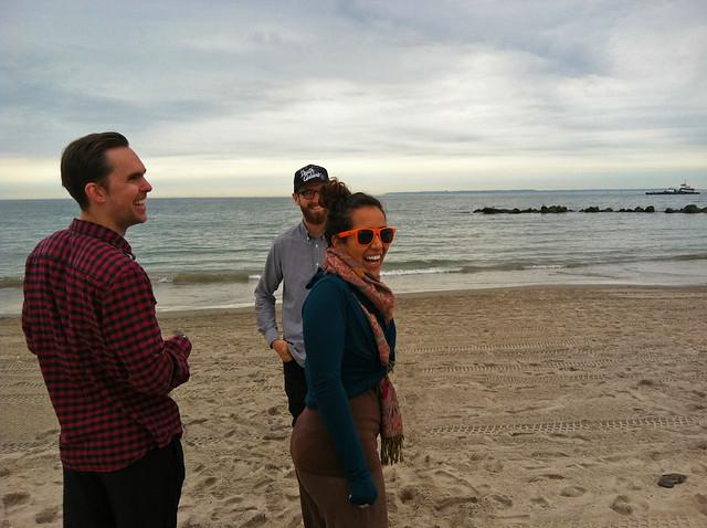 lookit on the beach