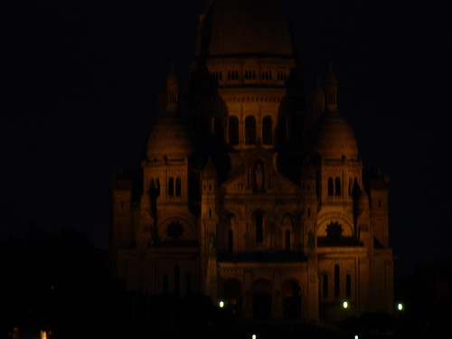 Dark and Eerie Sacre Coeur