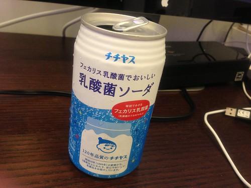 チチヤス 乳酸菌ソーダ