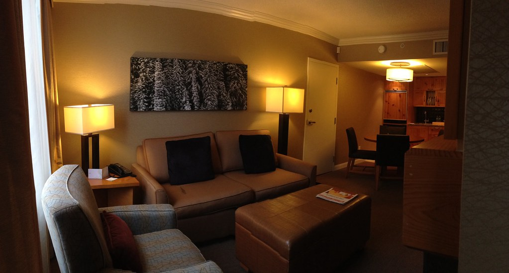 One Bedroom Suite Panorama