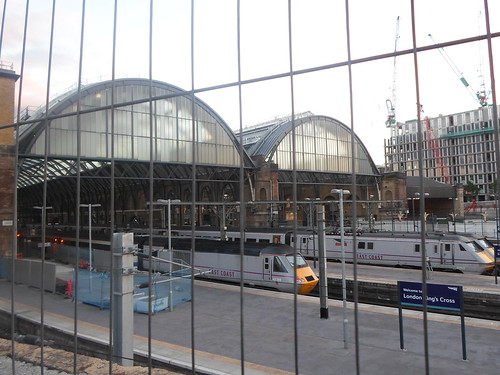 King's Cross Station--too lazy to see 9 3/4 for myself, so I just took a picture.