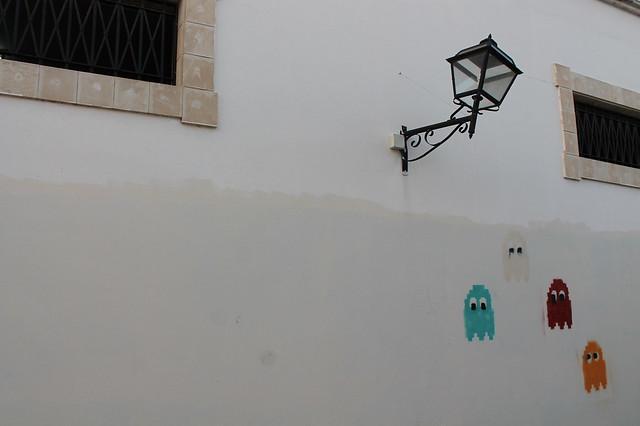 Pacman graffiti