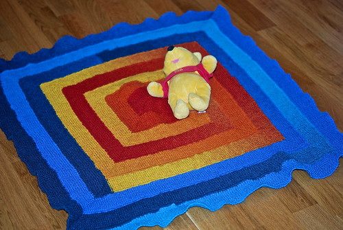 10-stitch blanket in Kauni