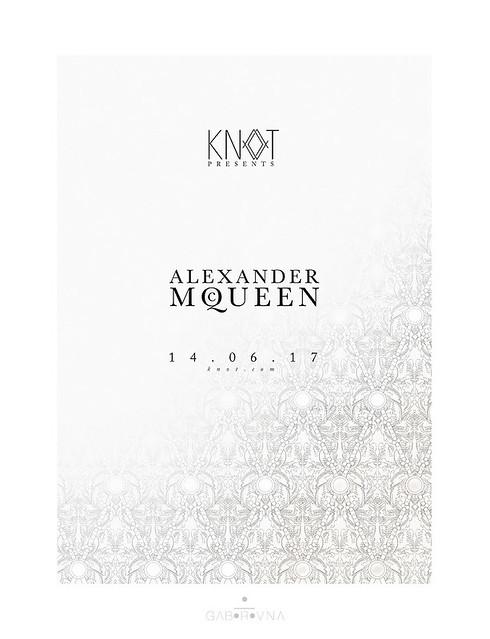 alexander mcqueen fashionshow poster