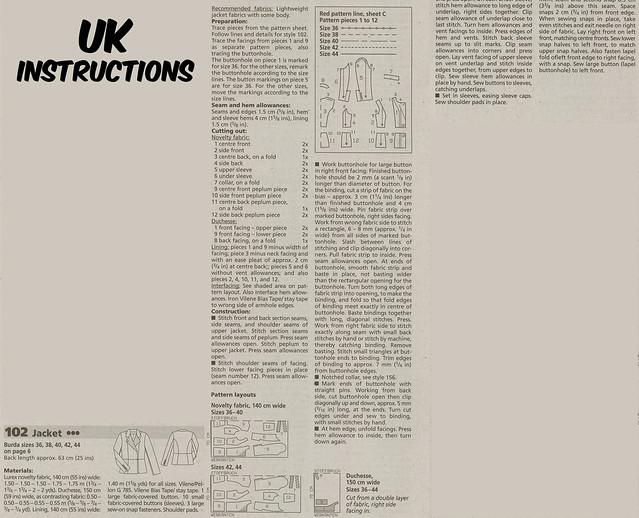 UK Instructions
