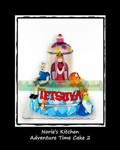 Norie's Kitchen - Adventure Time Cake 2 by Norie's Kitchen