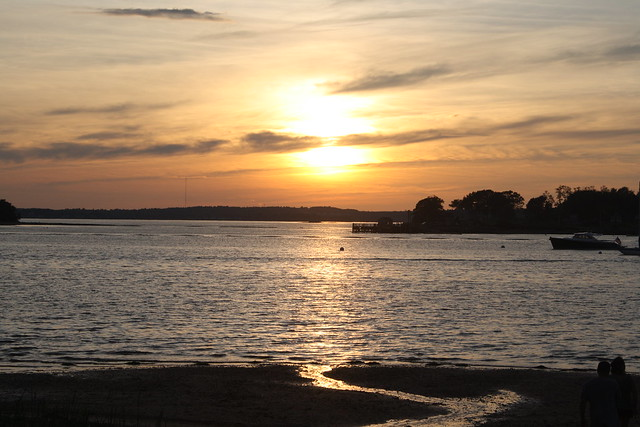Peak's Island sunset(1)