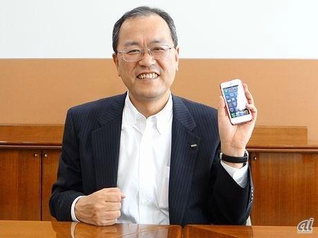 笑顔の田中社長