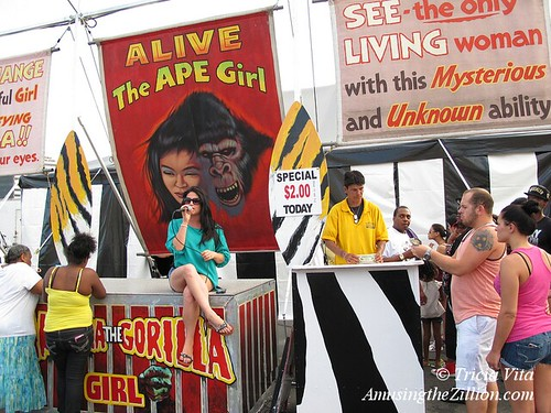 Girl to Gorilla Show