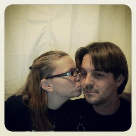 #backlit #sortof me and my husband! #pl365 #projectlife365 #projectlife2013 #project_life