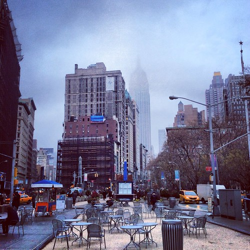 New York City Photo Impressions | Empire State Building In The Clouds by The Main Street Analyst