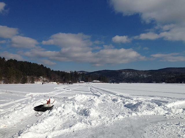 Life Ice Fishing In Vermont Adam 39 S Blog