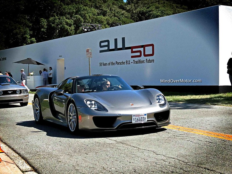 Porsche 918 Spyder at The Quail Lodge