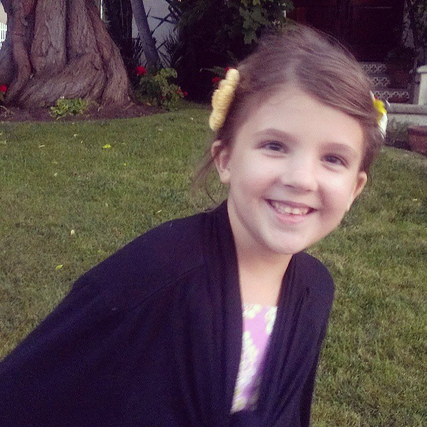 Out for an evening stroll with this girl #motherhood #daughtersrock