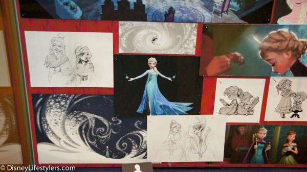 "Frozen Production Art "" Magic Of Disney Animation"" Hollywood Studios"