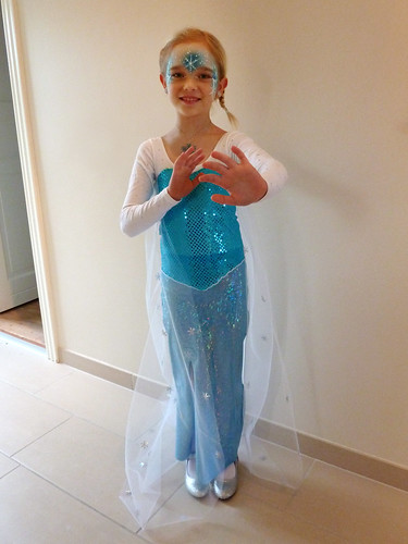 Ronja as Elsa from Frozen