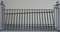 New IKEA Metal Steel Wire CD DVD Rack Tabletop Stand ...
