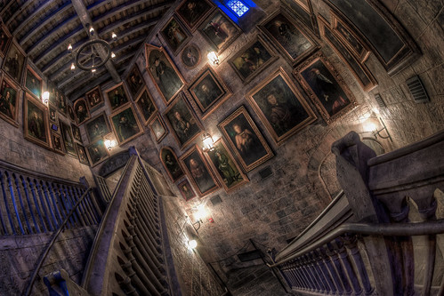 3d Wallpaper With White Background Wizarding World Of Harry Potter Hogwarts Portraits Flickr
