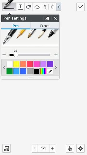 User Interface ใหม่ของ S Note ดูเรียบง่าย และสวยขึ้น