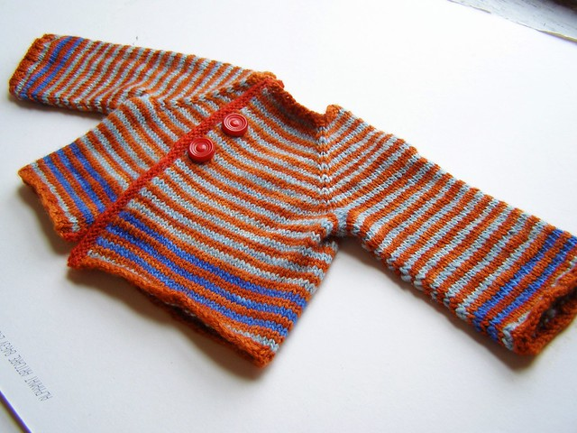 stripey fogt baby wrap