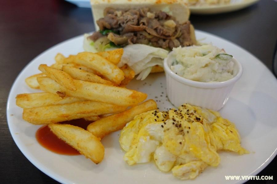 [大溪.美食]找食早午餐~崎頂往大溪老街旁早午餐.現點現做價格超值 @VIVIYU小世界