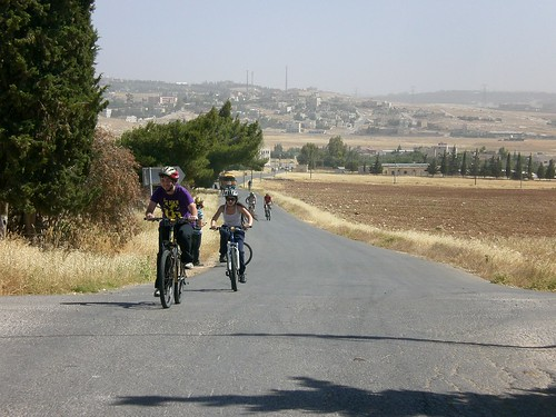 Bike ride from Amman to Madaba