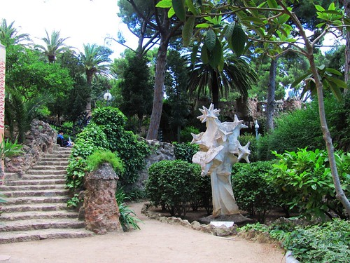 Barcelona, Spain Park Guell Sculpture