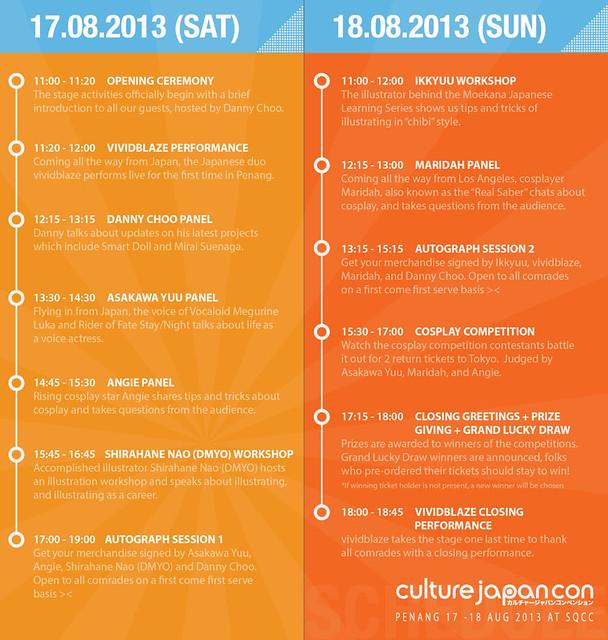 CJC13_Schedule