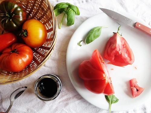 Heirloom Tomato Tasting