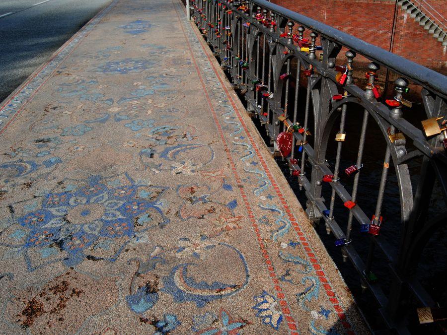 9 Bruggen in Hamburg, Wilhelminenbrücke, foto door Rita | Standort Hamburg