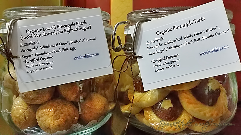 Organic Pineapple Tarts