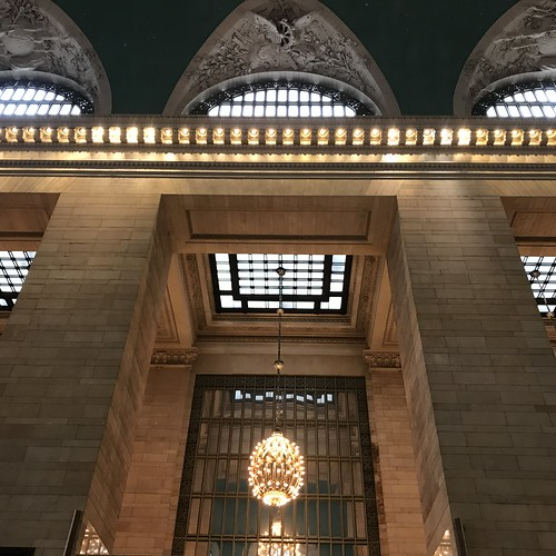 Skylights and Windows at Grand Central Terminal by DJ Lanphier