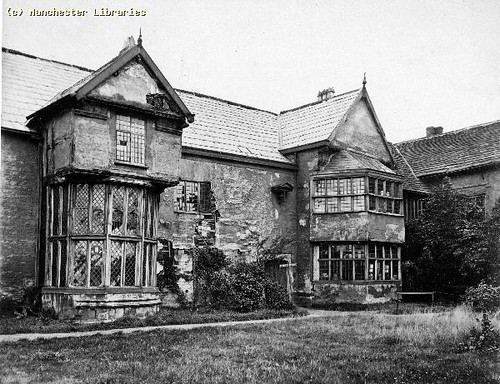 Ordsall Hall, Salford, 1874