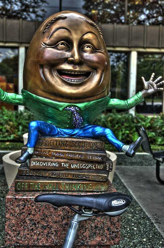1) Humpty FOL Sculpture