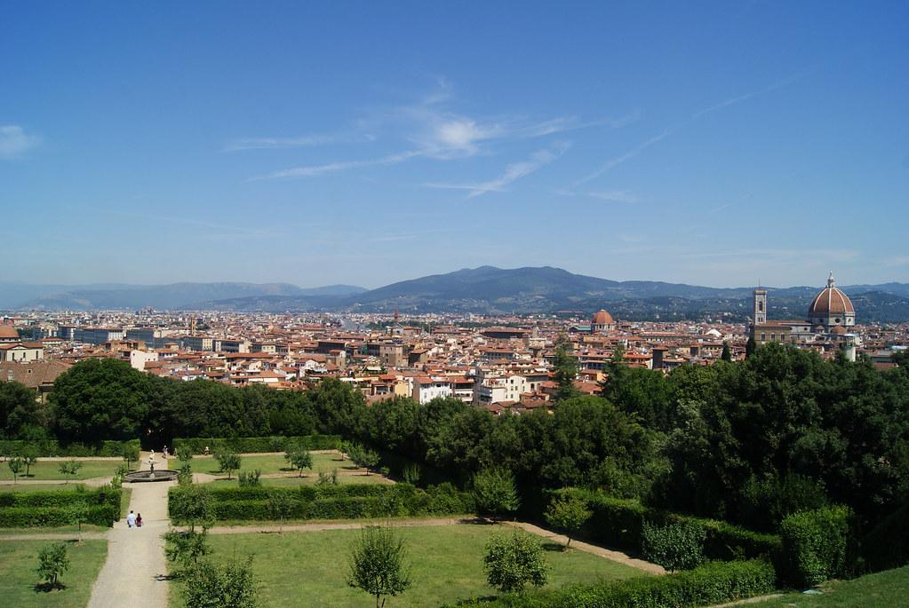 Palais Pitti et jardin de Boboli