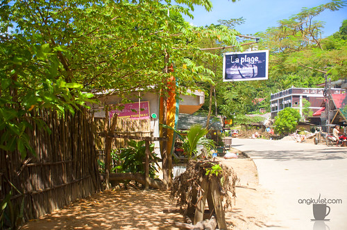 La Plage Sunset Bar and Mediterranean Restaurant, Corong-Corong Beach, El Nido, Palawan