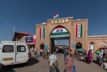 De bazaar, of bozor zoals ze zelf zeggen.