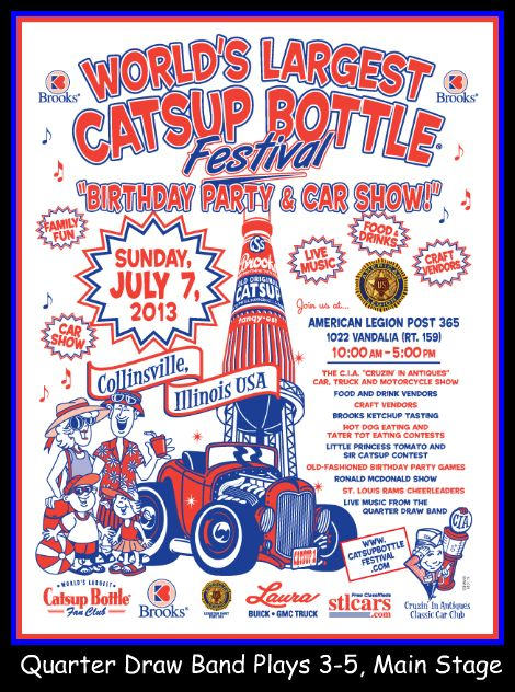 Catsup Bottle Festival 7-7-13