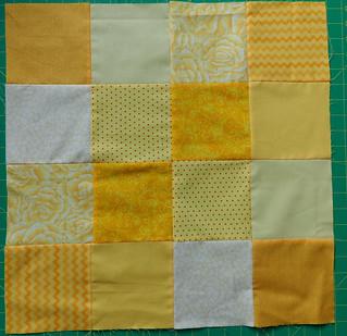 yellow patchwork