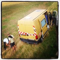 Les voyageurs en camion jaune...