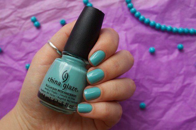 02 China Glaze For Audrey swatches