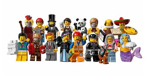 71004 LEGO Minifigures The LEGO Movie Series ORG01