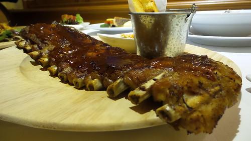 Full Rack Hickory Smoked BBQ 650 บาท