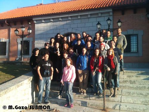 Asistentes al primer curso de MMO y PAM para operar en aguas españolas