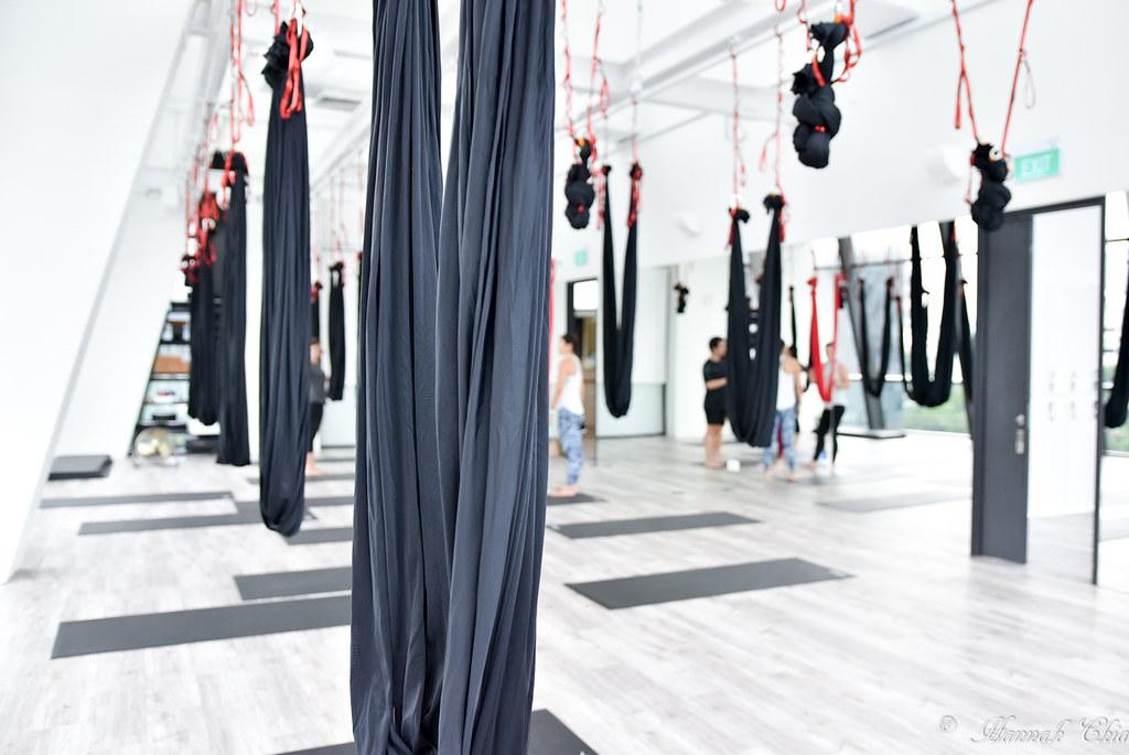 Aerial Yoga @ Trium Fitness-2